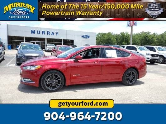 2018 Ford Fusion Hybrid Se In Starke Fl Jacksonville Ford